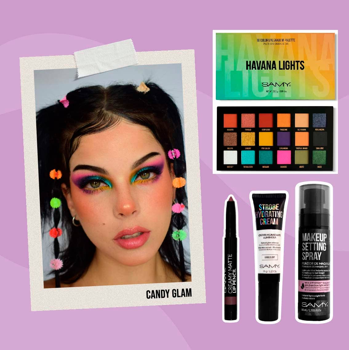 KIT CANDY GLAM